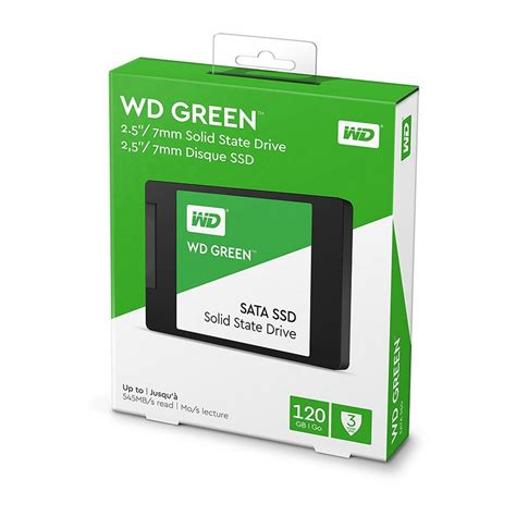 ssd 120gb wd green sata3 wd green 3d ssd 120gb sata3