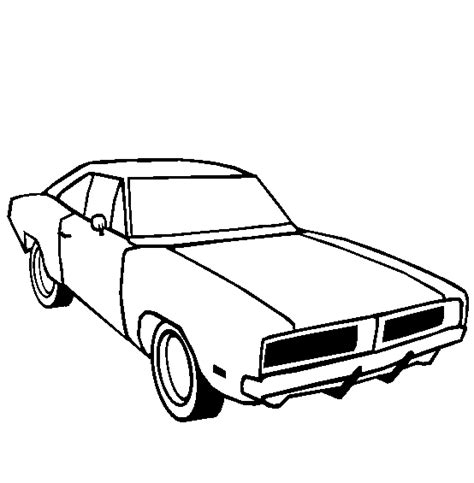 dodge car coloring page muscle cars coloring pages free 7 image colorings net