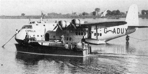 flying boat accidents crash of a short s 23 empire flying boat in batavia