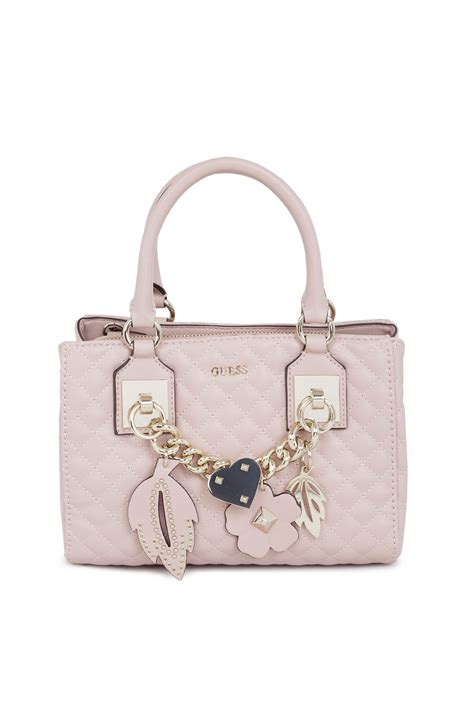 Other Designers Guess Who And The Bag by Satchel Bag Stassie Guess Powder Pink Bags Gomez Pl