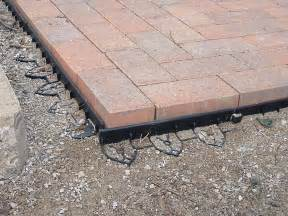 Paver Patio Edging How To Build Patio With Pavers Patio Design Ideas