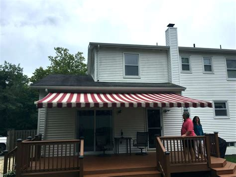 retractable fabric awning retractable awning replacement fabric awnings with motor