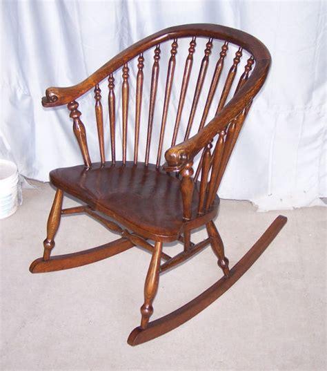 Antique Oak Rocking Chair by Bargain S Antiques 187 Archive Antique Oak Rocking