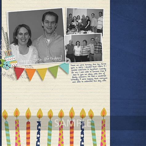 digital scrapbooking kits look who s celebrating msg