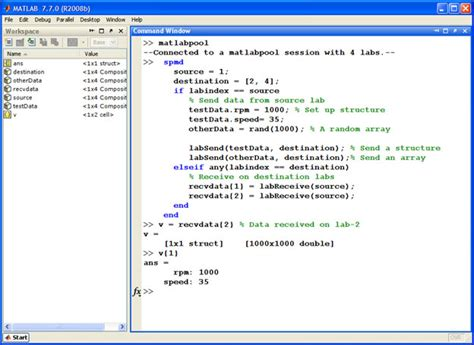 Matlab Programmer by Parallel Computing Toolbox Parallel Programming In Matlab Exle Matlab