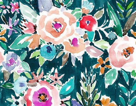 watercolor flower pattern wallpaper download this beautiful floral pattern from oakland