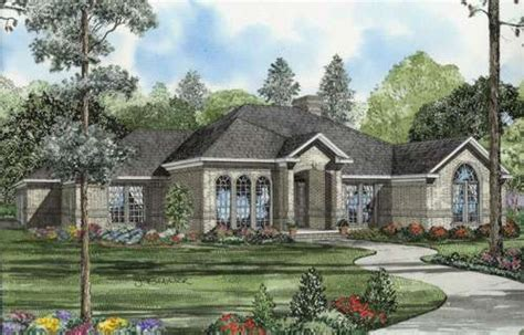 european house plans one story impressive european style house plans 3 european style