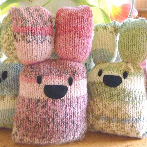 knit kits easter bunny knitting kit by gift knitting kits