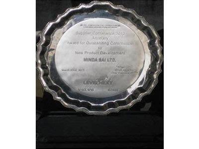 awards achievements minda sai limited