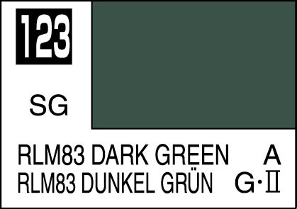 Mr Color 123 Mr Colour Hobby Hoby Hobi Warna Rlm83 Green Mr Color Paint Rlm83 Green 10ml C123 Gsi C 123