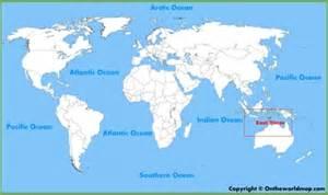 East Timor Location On World Map by East Timor Maps Maps Of East Timor Timor Leste