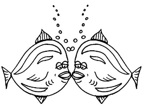kissing fish coloring pages free picture of sea turtle mating coloring page download