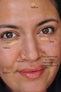 yellow coloration of the skin breaking choosing a concealer painted