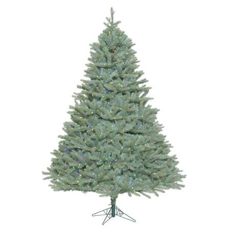 cyber monday vickerman christmas multi light show tree vickerman 408360 5 5 x 49 quot colorado blue spruce tree with 550 multi color led lights