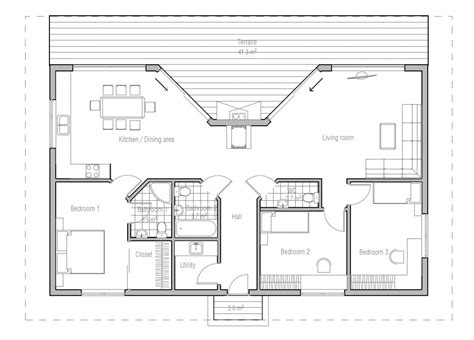 home blueprints home plans with cost to build modern house plan modern house plan