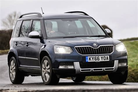 skoda yeti hatchback from 2009 used prices parkers