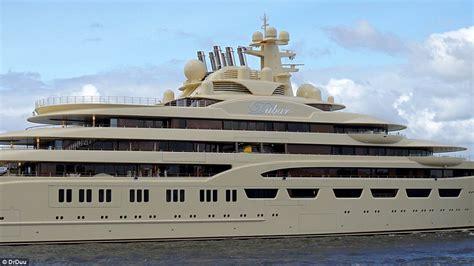 yacht dilbar dilbar superyacht delivered to alisher usmanov daily