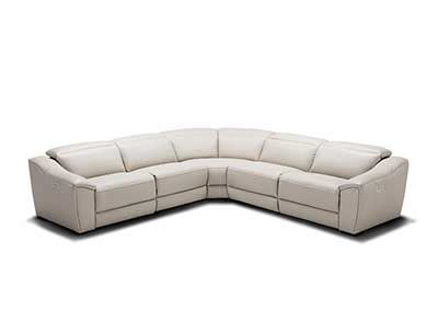 Silver Sectional Sofa by Silver Grey Recliner Leather Sectional Sofa Nj 775