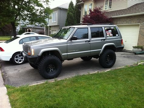 xj lifttire setup thread page  jeep cherokee forum