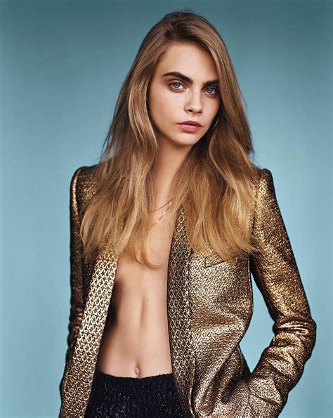 Catwalk To Photo Shoot For Vogue Us by Cara Delevingne Vogue Magazine Photoshoot Hawtcelebs