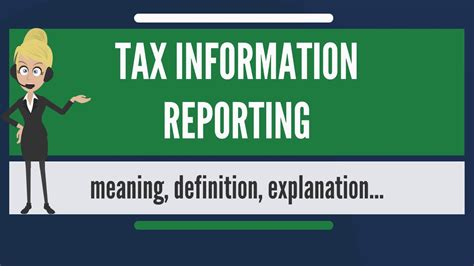Small Home Business Tax Information What Is Tax Information Reporting What Does Tax