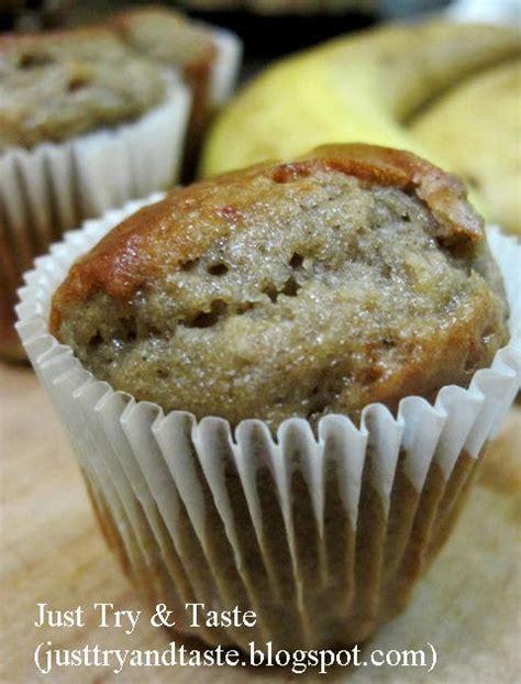 Banana Muffin Pisang resep muffin pisang banana muffin just try taste
