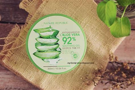 Nature Republic Aloe Vera Sebagai Masker Wajah my lovely a with monday s