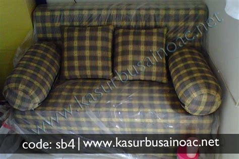 Sofa Bed Karawang sofa bed motif kotak kotak jual kasur busa inoac
