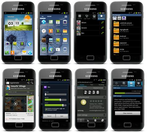 themes of galaxy ace update samsung galaxy ace s5830 with the new galaxy s3