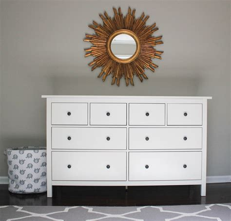 Hemnes Dresser Nursery by Nursery Progress Hemnes Dresser Erin Spain