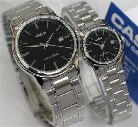Jam Tangan Casio Aw 48he 7a Pria Wanita Black White Original jam tangan casio mltp v002d original
