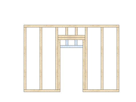 Interior Door Framing Framing An Interior Door Building Construction Diy