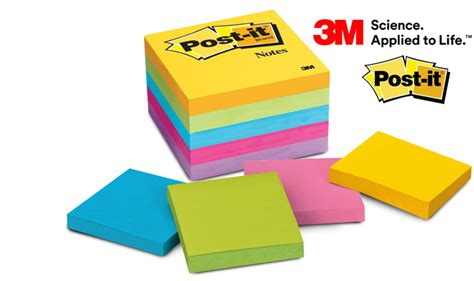 15 3m pack of five post it sticky note pads mydeal
