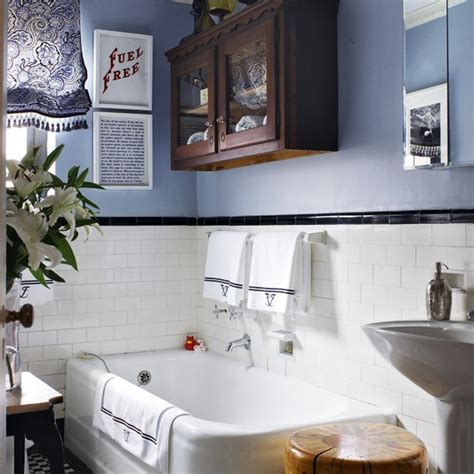 black and white bathroom bathroom design housetohome co uk small 1920s inspired bathroom small bathroom design