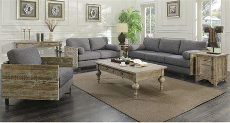 Charcoal And Blue Living Room by Interlude Charcoal Blue Living Room Set U5600 00 03 U5600