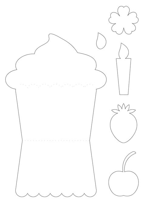 Cupcake Card Template Printable by 218 Best Moldes De Tarjetas Images On