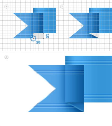 ribbon vector tutorial photoshop quick tip how to create a simple vector web ribbon in