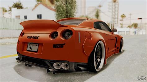 nissan gtr liberty walk nissan gt r r35 liberty walk lb performance for gta san