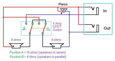speaker cabinet wiring diagram get free image about