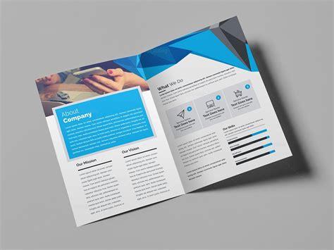 bifold brochure template psd bifold brochure 000435 template catalog