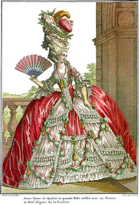 18th century french clothing historic fashion i love to look at but would hate to wear