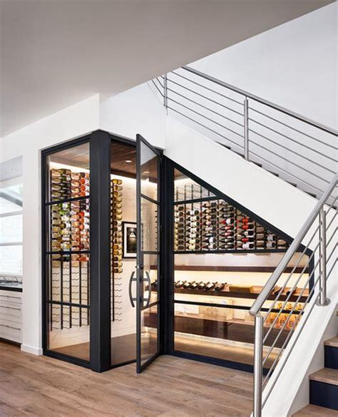 wine storage under stairs 25 clever wine cellar storage in under the stairs house