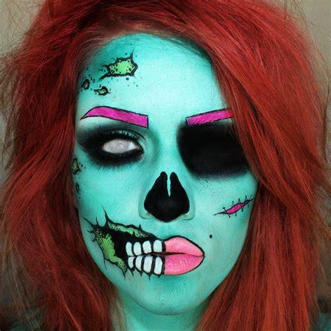 zombie outfit tutorial halloween how to pop art zombie halloween ideas pinterest