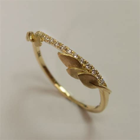 Wedding Rings Leaves by Wedding Elements 183 Rock N Roll