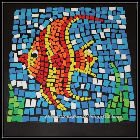 easy mosaic pattern ideas mosaic art ideas for kids google search miss stacey