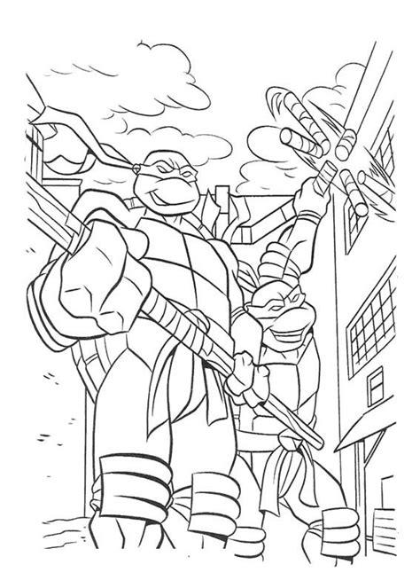 ninja turtle donatello coloring page 40 best ninja turtle coloring page images on pinterest