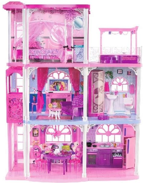 barbies dolls house toys for 3 to 10 year old girls 3 storey barbie dolls houses