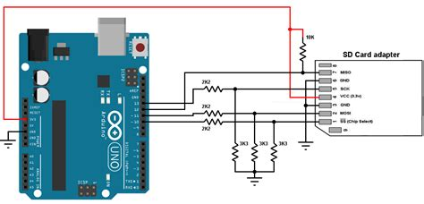 Arduino And Sd Card Interfacing Example Simple Projects