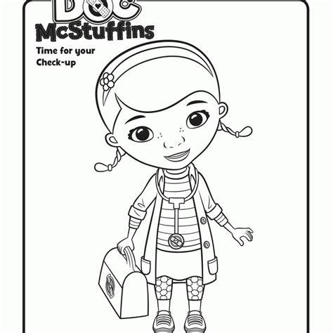 Dr Mcstuffin Coloring Pages doc mcstuffins coloring pages az coloring pages