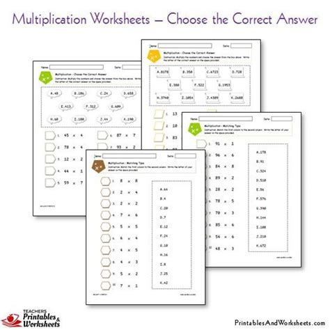Multiplication Boxes Worksheets by Multiplication Worksheets 187 Multiplication Worksheets With
